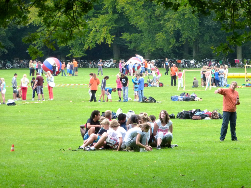 Een sportdag op de Grote Speelweide