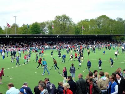 6500 Hockeyers op het Sportpark.