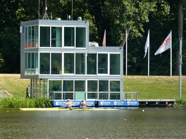 De finishtoren, naar een ontwerp van Francine Houben