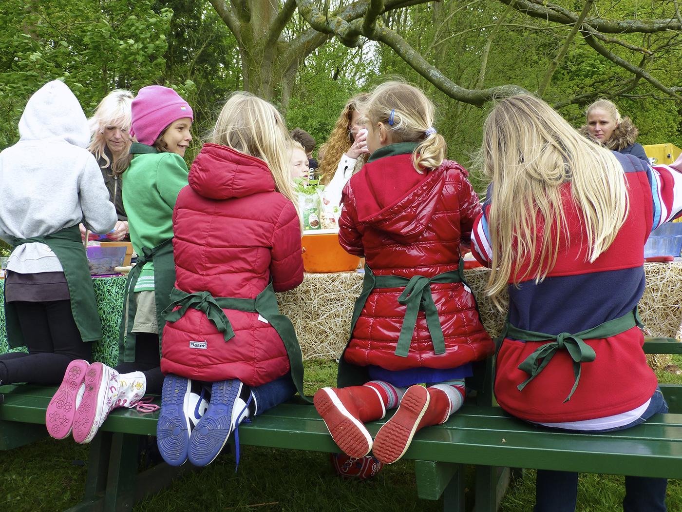 In de weekends en door de week wordt voor kinderen altijd iets georganiseerd