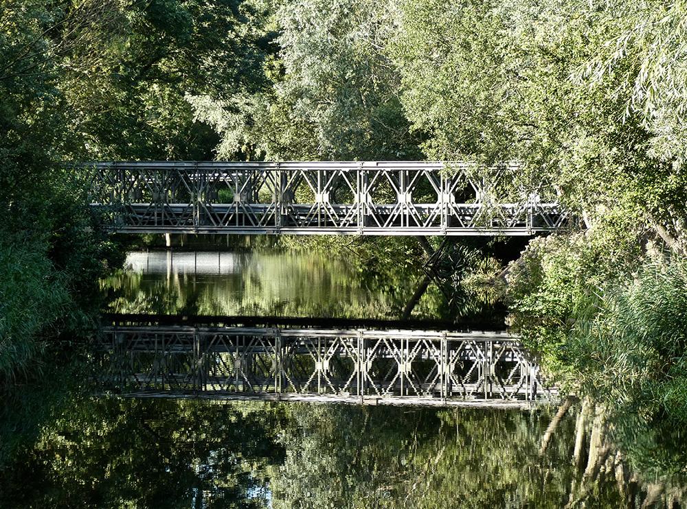 De tijdelijke brug naar Spa Zuiver