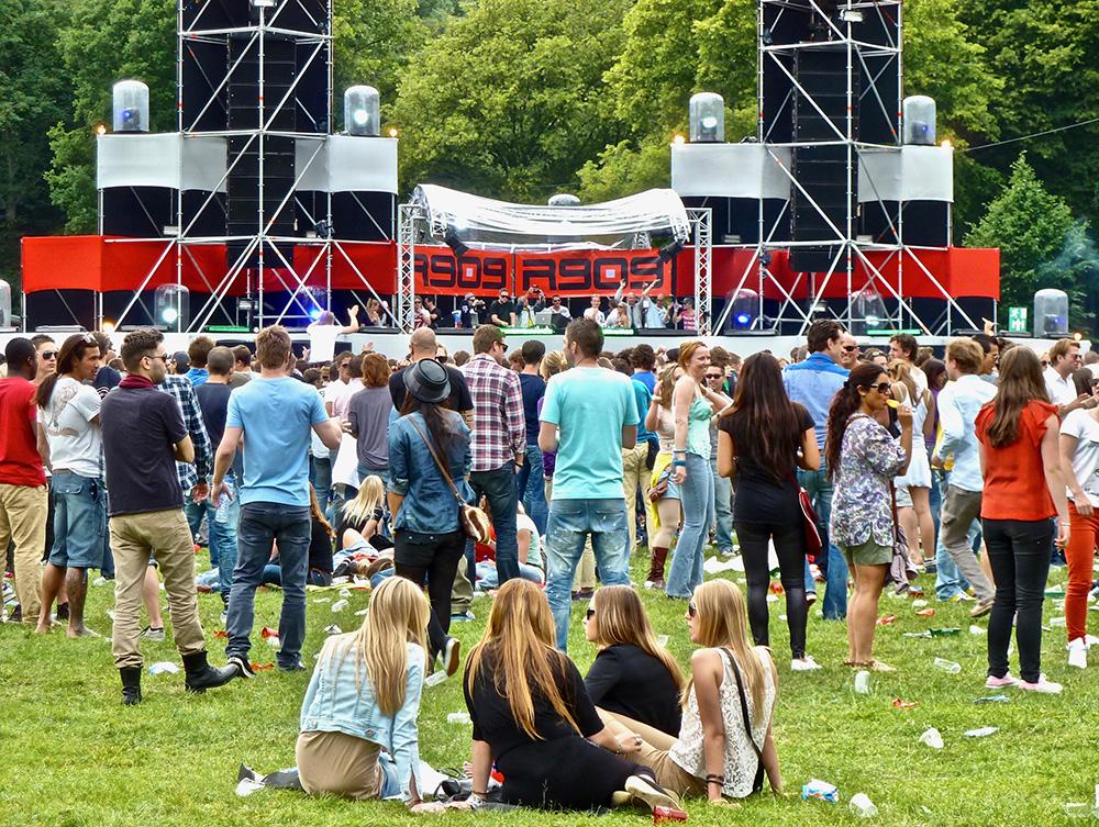 Een zomer zonder festivals