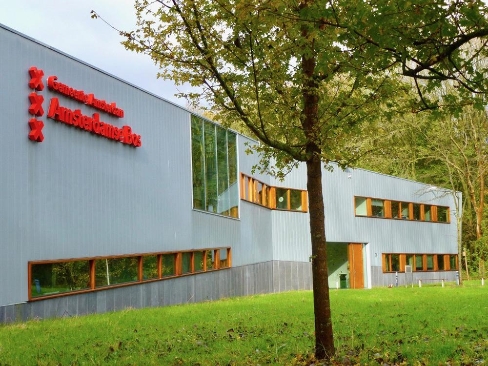 Het Beheergebouw waar de Bosorganisatie is gehuisvest