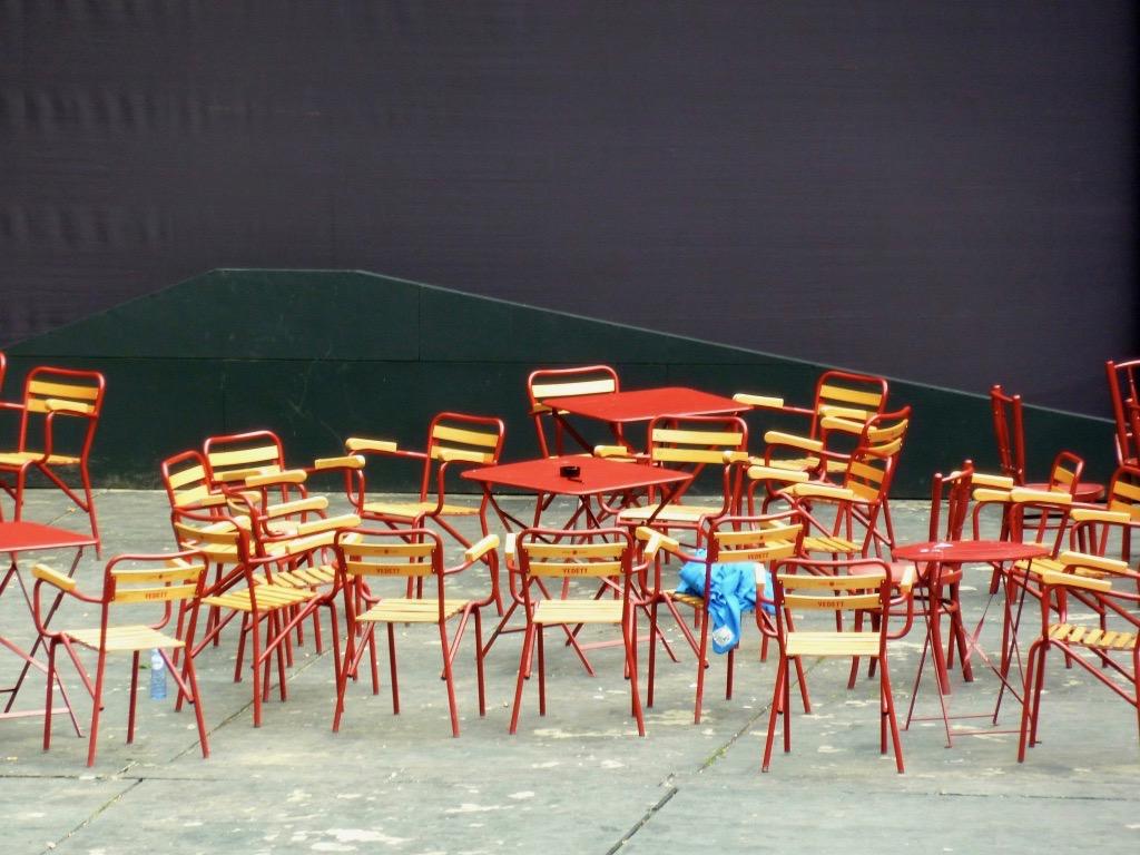 Nog even en de stoelen in het Bostheater zullen weer bezet zijn.